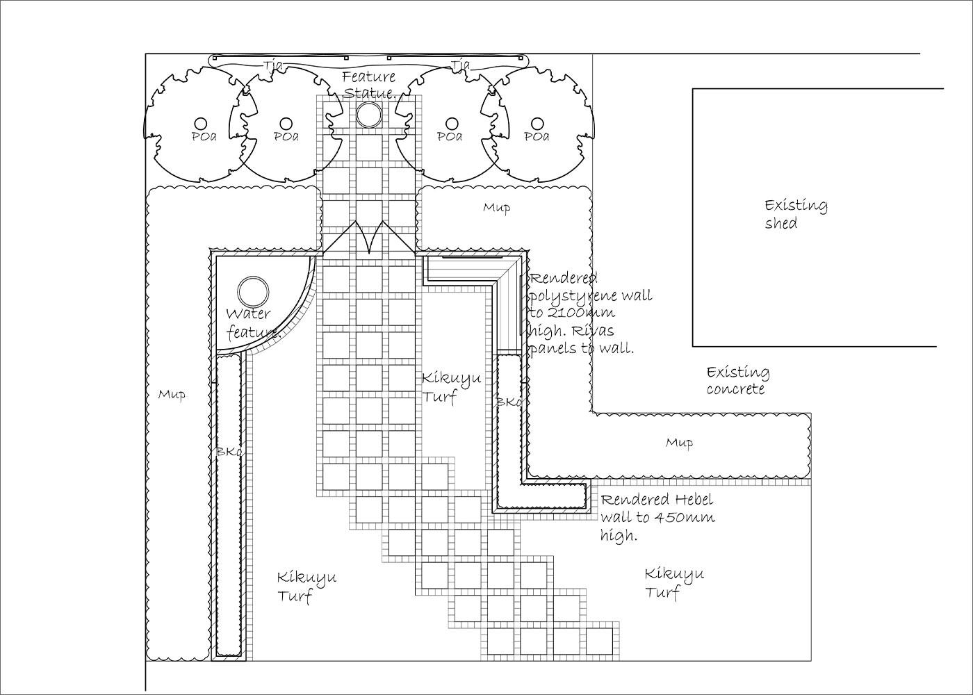 Soft-Scape Plan | Hand Made Gardens