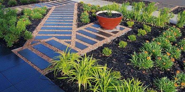 Custom Designer Garden Feature