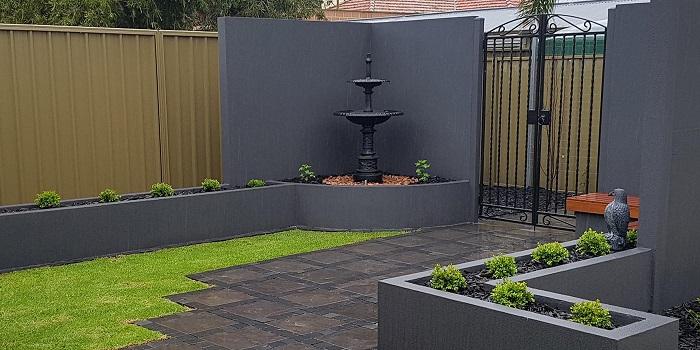 Rendered Raised Garden Beds