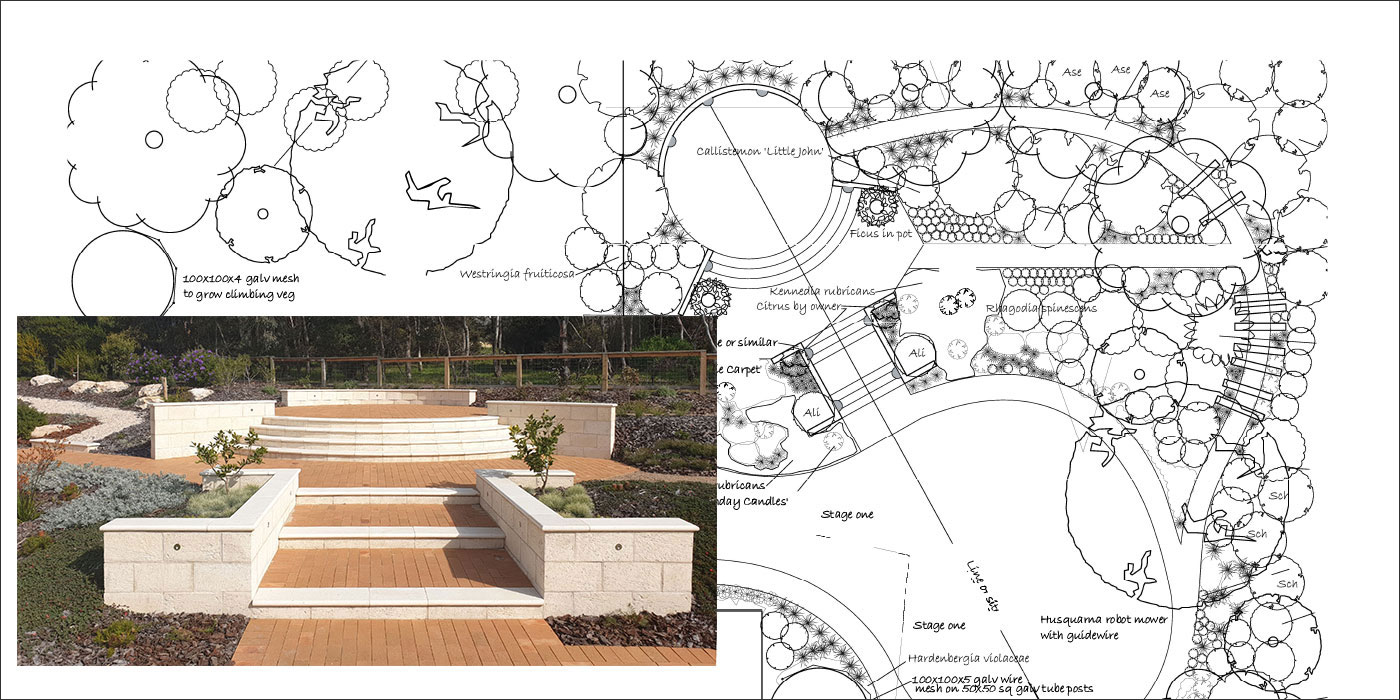 Native Garden Design Adelaide | Hand Made Gardens