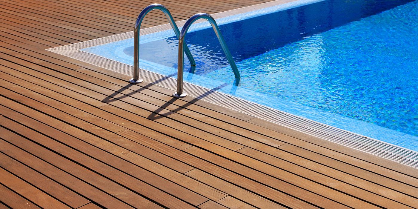 Timber Deck Around Pool
